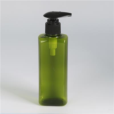 Square Plastic Bottle
