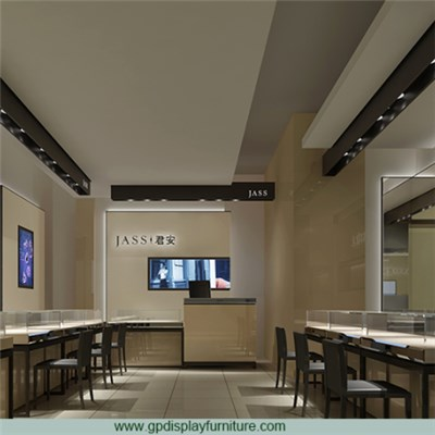 Jewelry Store Decor Designs
