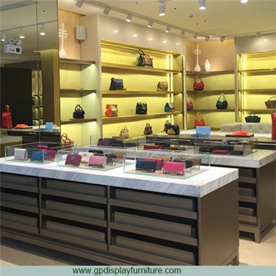 Handbag Store Sales Counter