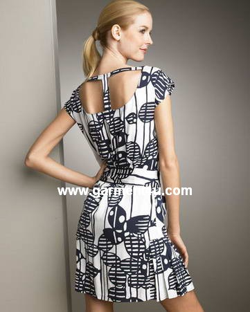 sell fashion silk dress