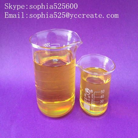 Factory Supply Pharmaceutical Intermediates Boldenone Undecanoate CAS: 13103-34-9 Yellow Liquid Ganabol