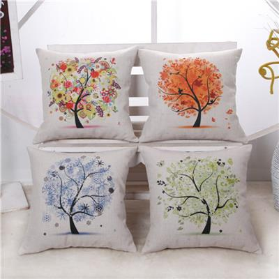 Tree Printing Chair Covers