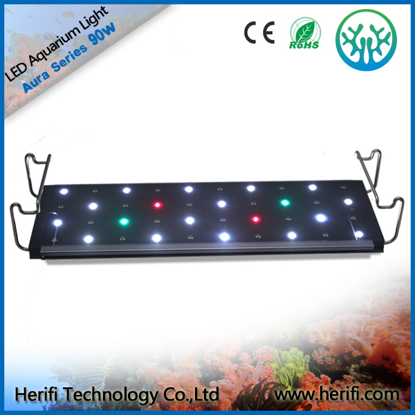 High power 120cm Dimmable control led aquarium light led reef lights programmable