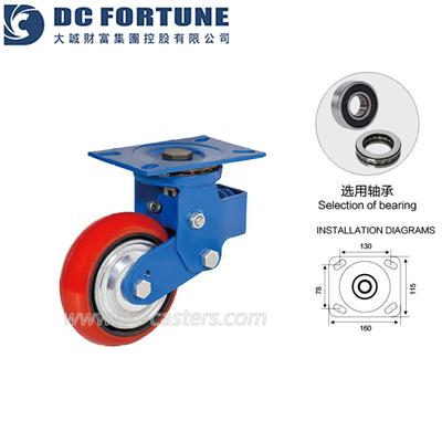 Spring Loaded Casters