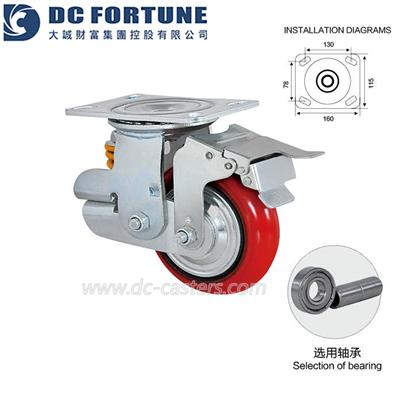 Shock Absorbing Casters