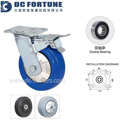 Rubber Wheels For Carts