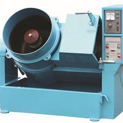 Centrifugal Disc Polishing Machine For Metal Hardware