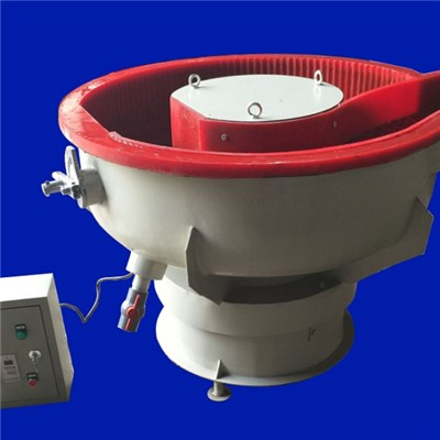 Vibratory Polishing Machine With Separator