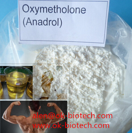 Purity 99% Raw Materials Steroids Powder Anadrol Oxymetholone