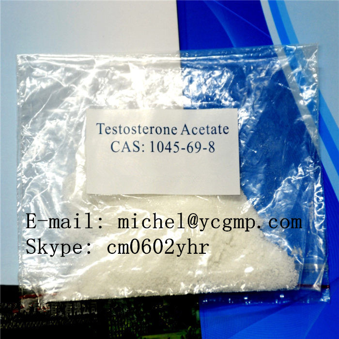 High purity steroid powder of Testosterone Base