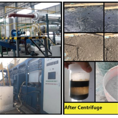 Oily Sludge Harmless Treatment System