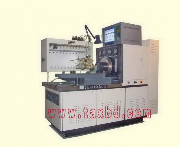 diesel fuel injection pump test stand