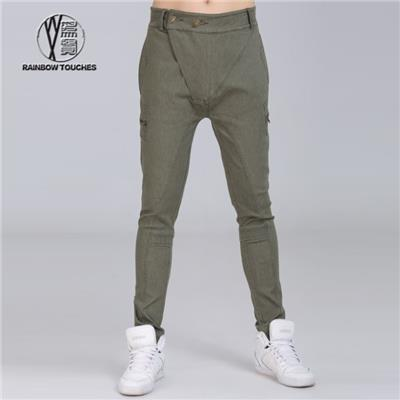 Olive Green Jeans Pants