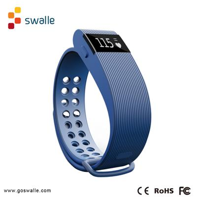 Wireless Bluetooth Heart Rate Smart Bracelet For Body Healthy Monitor