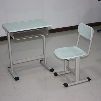Mold Plate Single School Desk And Chair