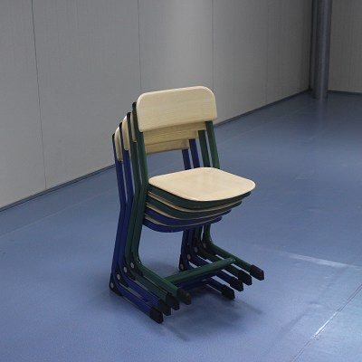 Mold Plate Single School Chair