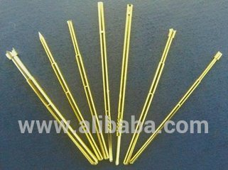 Brass Spring Contact Probe For PCB Testing Needle