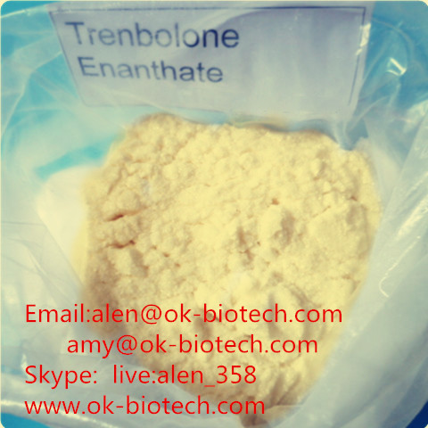 Phurchase 99% Trenbolone Enanthate 10161-33-8 Muscle Building Raw Steroid Powder from China