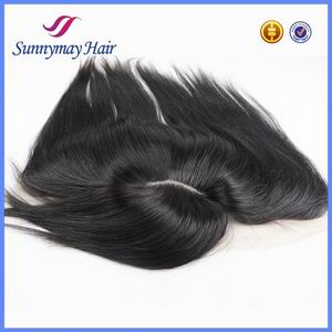 Top Quality Peruvian Virgin Hair Silk Base Lace Frontal