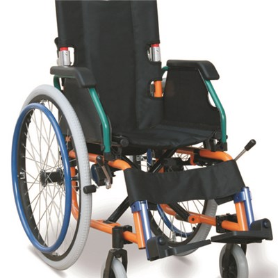 Drop Back Handle Mini Wheelchair