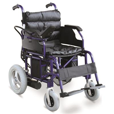 #JL138 – 400W Folding Lightweight Electric Wheelchair With Multi-Function
