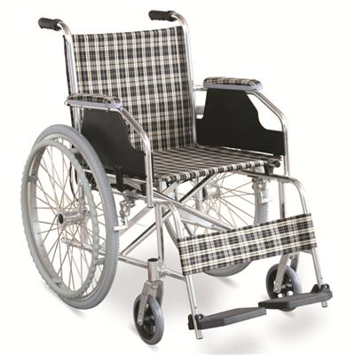 #JL869LX – 29 lbs. Simple Ultralight Wheelchair With Dual Cross Brace