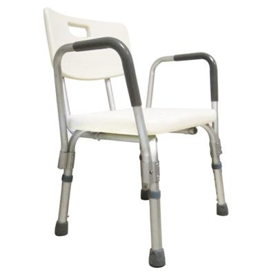 #JL736LQ – Adjustable Height Shower Benches With Tool-Free Detachable Armrests & Backrest