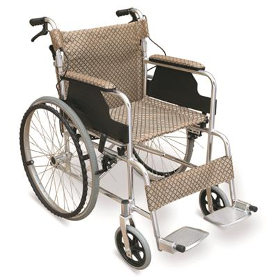 #JL839LAJ – 31 lbs. Lightweight Wheelchair With Drop Back Handles With Brakes
