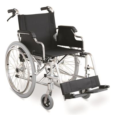 #JL908LJ – 31 lbs. Lightweight Wheelchair With Flip Black Armrests, Handle Brakes & Detachable Footrests