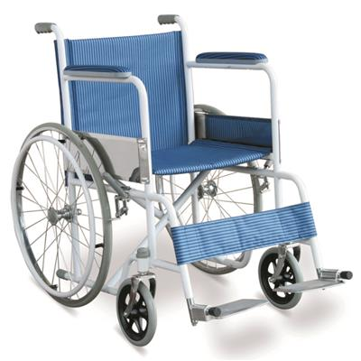 #JL808 - Economic Manual Wheelchair With Powder Coated Carbon Steel Frame