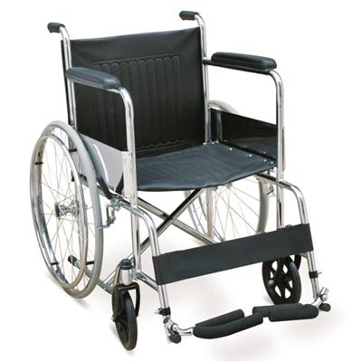#JL809T - Economic Manual Wheelchair With Foam Footrest