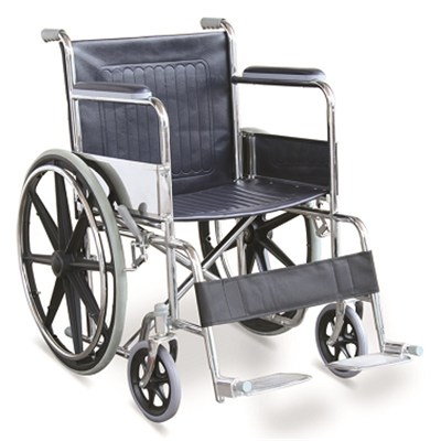 #JL809B - Economic Manual Wheelchair With MAG Wheels