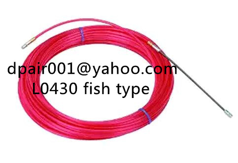 Fibreglass rodder duct fish snake cable puller 4.5mm x 10 mtrs