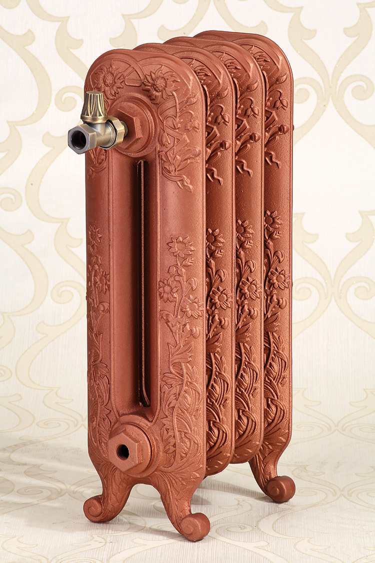 Beizhu cast iron heating radiator Daisy arts and crafts radiator