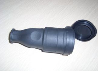 rubber connectors