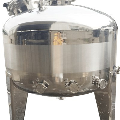 stainless steel liquid storage tank for wine beer water oil milk