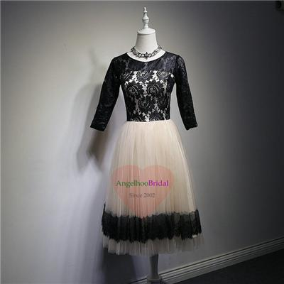 Long Sleeves Lace Mother Of The Bride Dresses MD1503