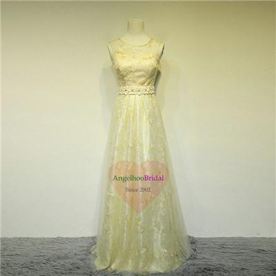 Long Lace Mother Of The Bride Dresses MD1505