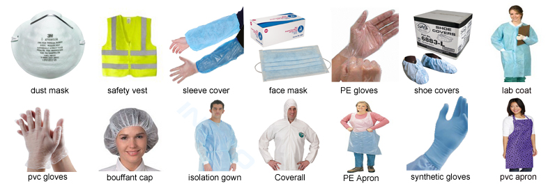 Disposable personal safety products