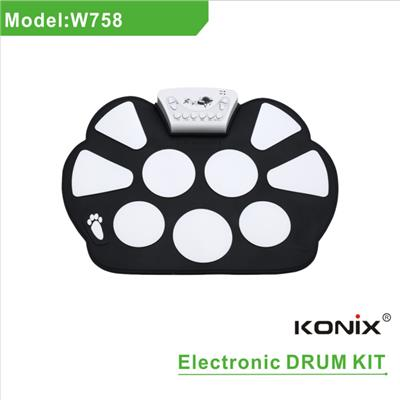 Roll Up Drum Kit W758