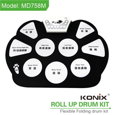 Roll Up Drum Kit MD758