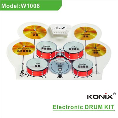 Roll Up Drum Kit W1008