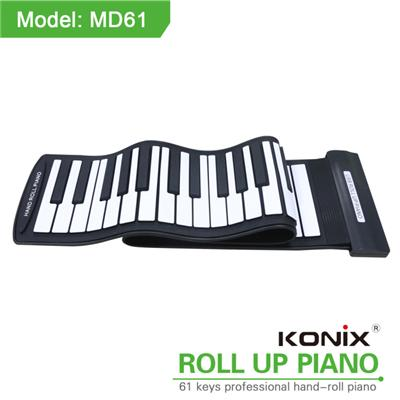 Roll Up Piano MD61