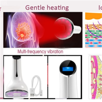 women breast massage machine & hot electric vibrating breast massager, small nice breast enhancer massage