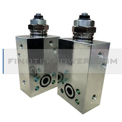 Hydraulic manifolds valve steel manifold block.used in the hydraulic industry