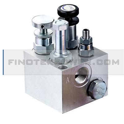 Hydraulic Lift Valve Machined Block for Lift Equipment, Platform Lift, Cargo Lift