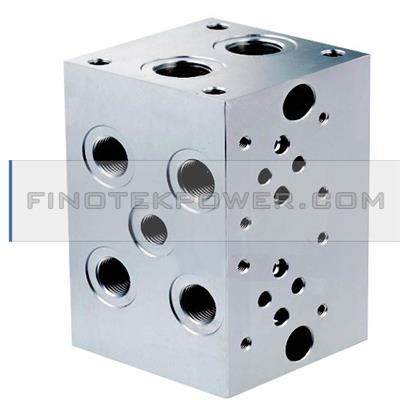 Central Block Subplate Manifold Block Hydraulic Manifold Block