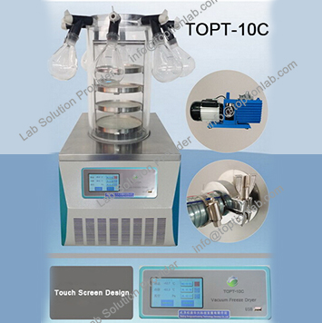 Vacuum Freeze Dryer Lab Research Freeze Drying Machine Supplier