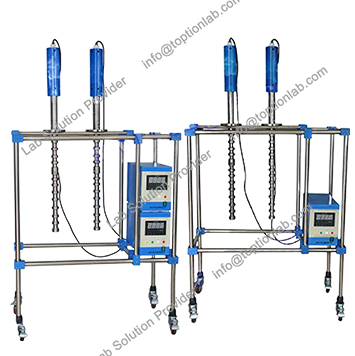 Ultrasonic Material Dispenser Ultrasonic Glass Reactor