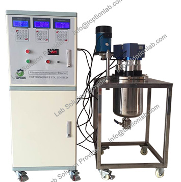Ultrasonic Homogenizer With Temperature Controller